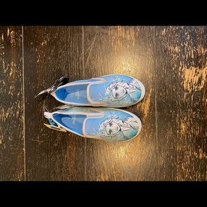 Disney/Frozen-Elsa/Slip on Sneakers/NWT